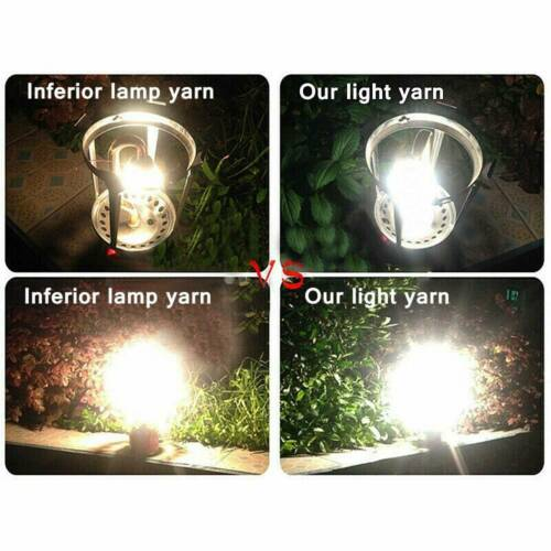 10PCS Useful Camping Gas Lamp Lantern Mantles Light Replace Cover Outdoor Tool ~