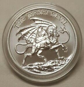 The Chupacabra 1 oz .999 Silver BU Round Puerto Rico Folklore