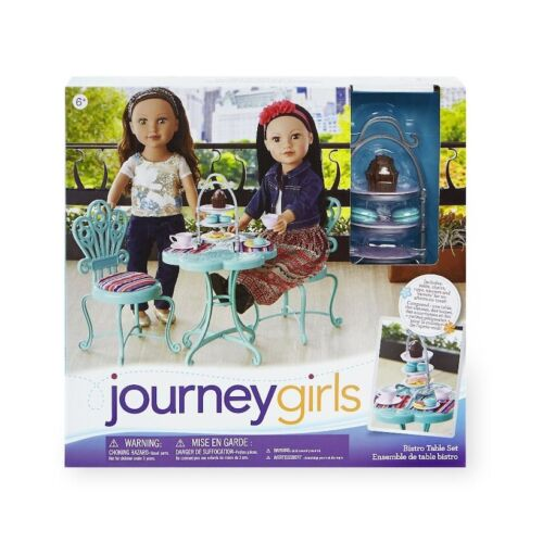 Journey girls Callie doll new plus New York edition with Bistro table set