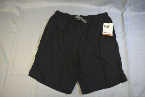SAXX Cannonball 2N1 Swim Shorts, Men's Size L, Bla