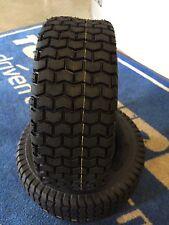 2 Reifen m Schlauch TR13  Rasentraktor 13x5.00-6 4PR Aufsitzmäher Rasenmäher