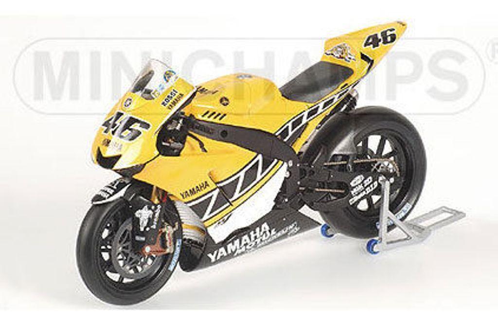 Minichamps 053096 yamaha YZR-M1 modèle de moto rossi laguna seca motogp 2005 1 12th