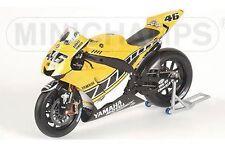 MINICHAMPS 053096 Yamaha YZR-M1 model bike Rossi Laguna Seca MotoGP 2005 1:12th