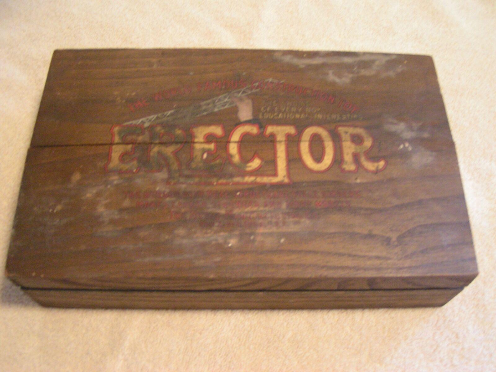 Impresionante 1915 Mysto Erector Set   4