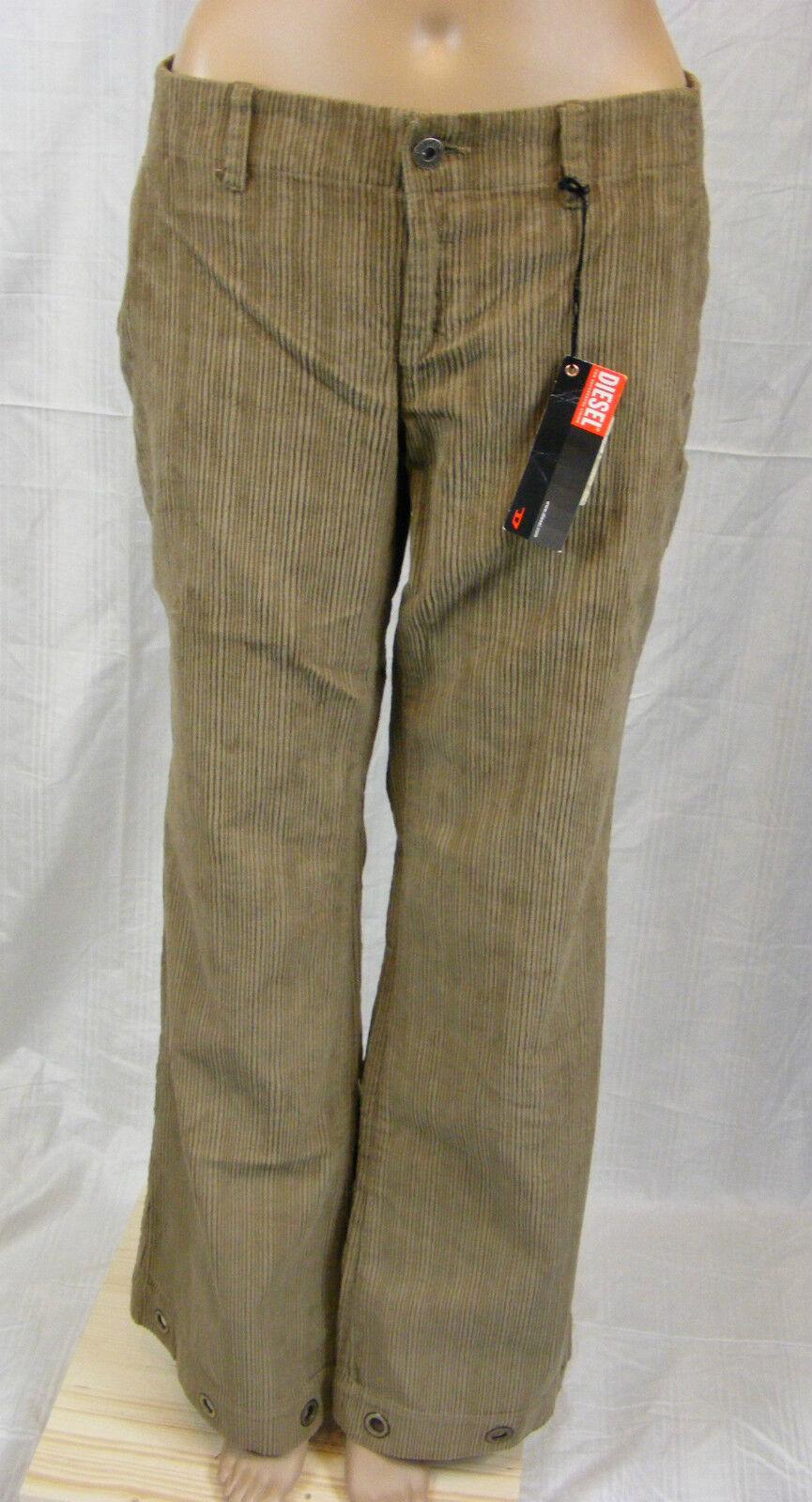 Diesel  pantalon Kord  w31  Marron  superbe outils     NEUF