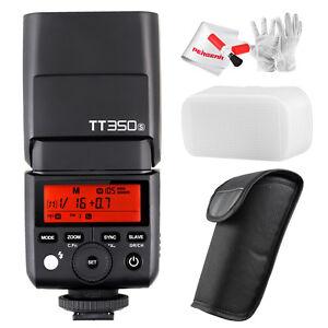 Godox TT350S TTL GN36 Flash w/ Diffuser For Sony Camera a7RII a58 A6000 A6500