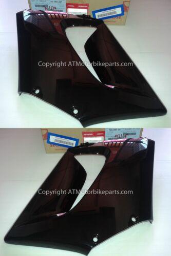 Honda CBR125 R Front Middle Fairing Cowl Left /& Right Set Black 2004-2007