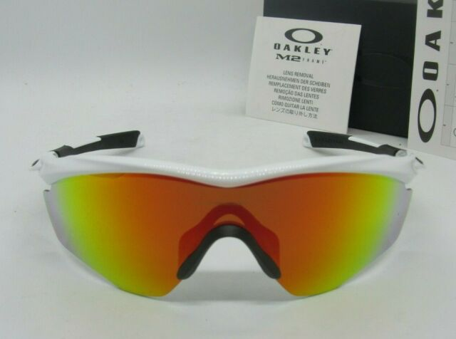 c5cf16fe4a OAKLEY polished white fire iridium M2 FRAME XL OO9343-05 sunglasses! NEW IN
