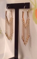 ORELIA EARRINGS ~RRP £28~ EXCELLENT QUALITY FASHION JEWELLERY CHAIN FRINGE~8366~
