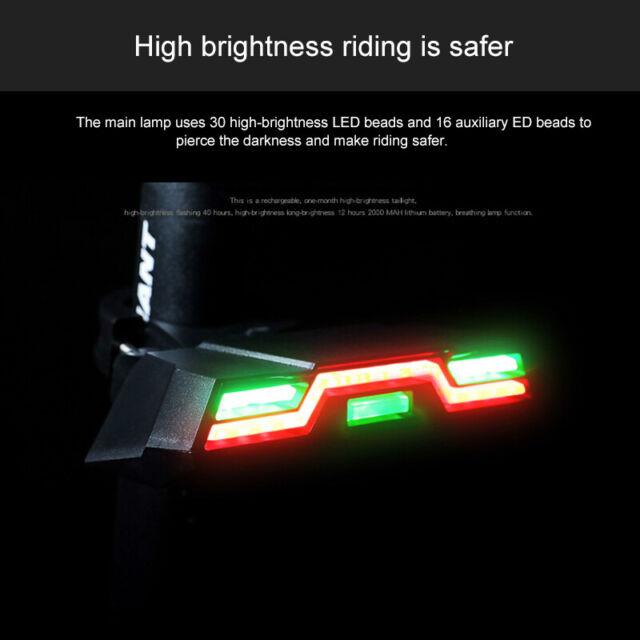 Bike High Endurance Light Tail Lamp High Brightness Bicycle MTB LED Rear Light A
