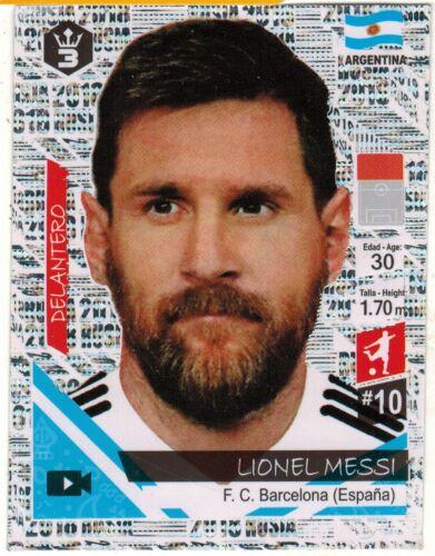 Perú 2018 Copa del Mundo FIFA 3 Reyes Rusia 2018 Pegatina Fútbol #166 Lionel Messi
