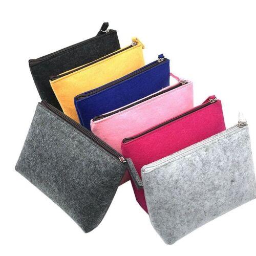 Felt Bag Travel Gadget Organizer Portable Digital Cable Accessories Case Pouch