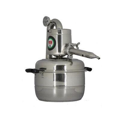 10L 20L DIY HAUS Destillieranlage Destille Alkohol Ätherischer Öle Wasser