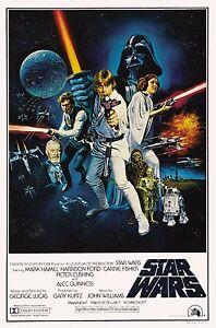 Vintage Star Wars Retro,Classic Movie Poster Print A0-A1-A2-A3-A4-A5-A6-MAXI 392