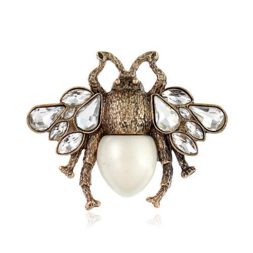 Para Hombre//Mujer Miel Abeja Broche Pin Solapa Sombrero De Insectos Bug Pin Insignia