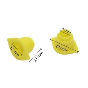 500-Pcs-Beekeeping-Tools-Queen-King-Cage-Accessories-Fertility-King-Yellow-Pedes
