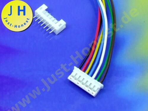 KIT BUCHSE Male Connector PCB #A1828 STECKER 7 polig//pins 2 mm  HEADER