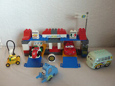 LEGO DUPLO THE CARS-Set 5829-Grande Box stop completamente