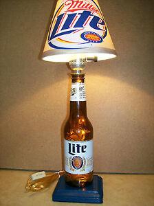 Image Is Loading Miller Lite Beer Bottle Lamp
