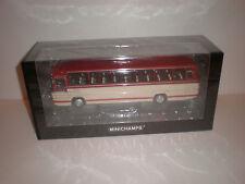 1/43 Minichamps 1965 Mercedes Benz O.302 bus red/cream
