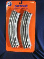 Lionel White O36 Curve FasTrack 4-Pack O Gauge # 6-85390