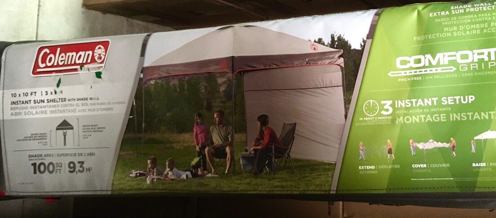 Coleman Screened auvent tente avec instantanée SetupBACK HOME Screenhouse ensembles...