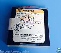 Tx1802f California Micro Devices Resistor Thin Film Rockwell 250/units