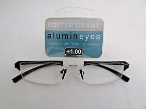 72c5c3a0d43 Image is loading Foster-Grant-Alumineyes-Lightweight-Reading-Glasses-1-00-