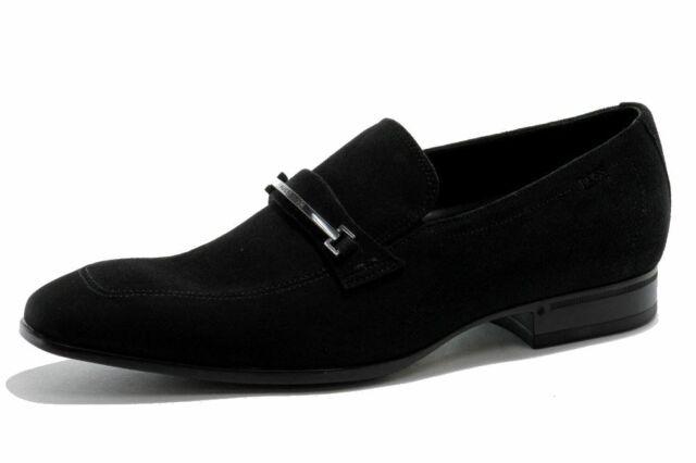 Hugo Boss Men's Fashion Loafer Varimo Black Shoes 50254760