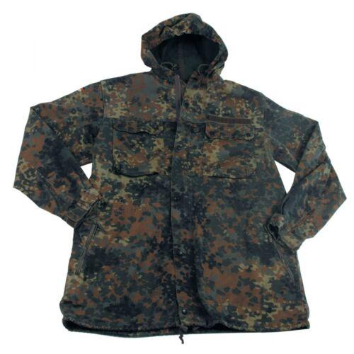 Original Bundeswehr BW Parka flecktarn ohne Futter Feldparka Jacke Mantel