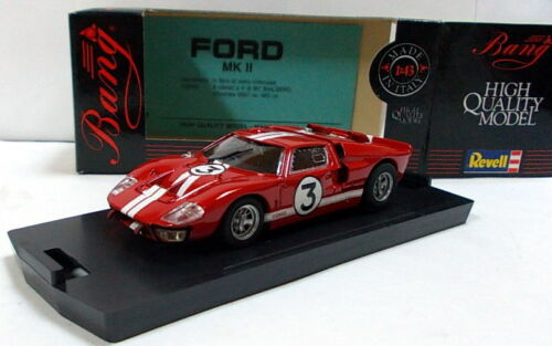Ford GT40 Le Mans #3 rot Bang 1//43