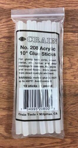 19 Pieces Crain 208 Glue Sticks