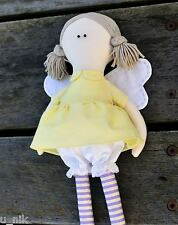 Fairy Doll soft toy sewing pattern softie plushie diy CD