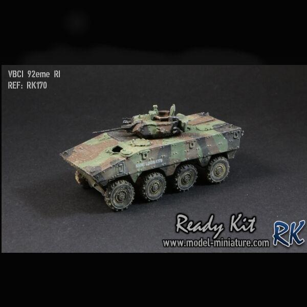 VBCI, 92eme RI, véhicule français 1 72, Model-Miniature   Ready Kit