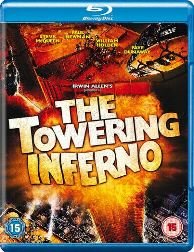 The Towering Inferno [Blu-ray] [1974] [Region Free] [Region B] [Blu-ray] - DVD