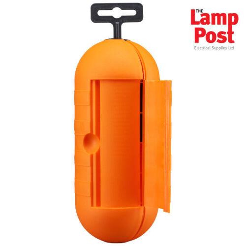 Splashproof Outdoor Extension Lead Plug Single Socket Cover Protector BG SPTO-MP