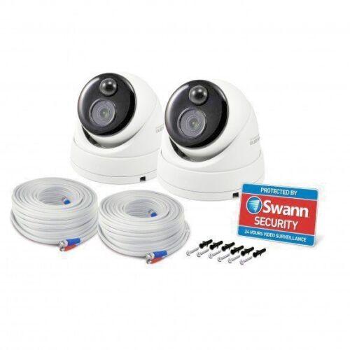 Swann PRO-3MPMSD Heat Thermal Sensing 1080p Super HD PIR 3MP CCTV Dome Camera