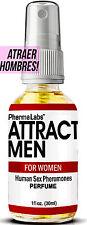 El Secreto para ATRAER HOMBRES! Poderosas SEXO FEROMONA HUMANAS perfume de 1oz