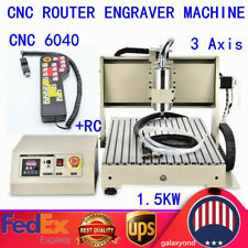 3axis Engraver Cnc6040 Router Engraving Drilling Milling Machine 3d Cutter Rc