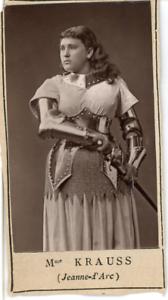 Paris-Theatre-Mme-Krauss-dans-Jeanne-d-039-Arc-Vintage-print-Photoglypti