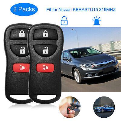 Bulk Lot of 10 Infiniti Key Fob Keyless Entry Remote fits Nissan KBRASTU15 4-Btn
