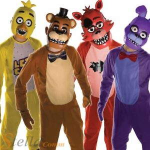 Official Five Nights At Freddy S Halloween Costumes Child Fancy