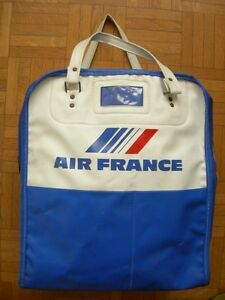 regarder dc2c5 1ab10 Details about Travel bag air france annees 70 – stewardess air plane  aviation vintage- show original title
