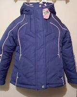 Protective System Girls 4 In 1 System Jacket Navy & Pink Six (6)