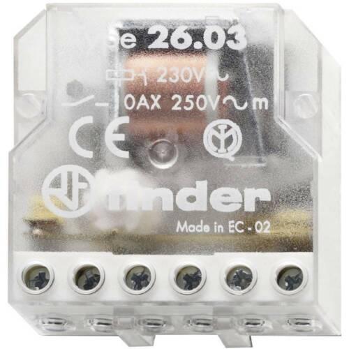 T 24 Télérupteur pour encastrement Finder 26.03.8.024.0000 1 NO R 1 NF