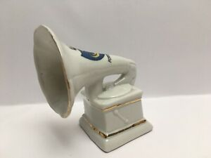 Vintage-Crested-China-Portsmouth-Gramophone-Record-Payer-Crested-China