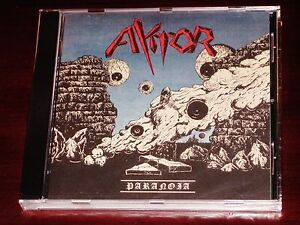 Aktor: Paranoia CD 2015 Ektro, High Roller Records Germany ...