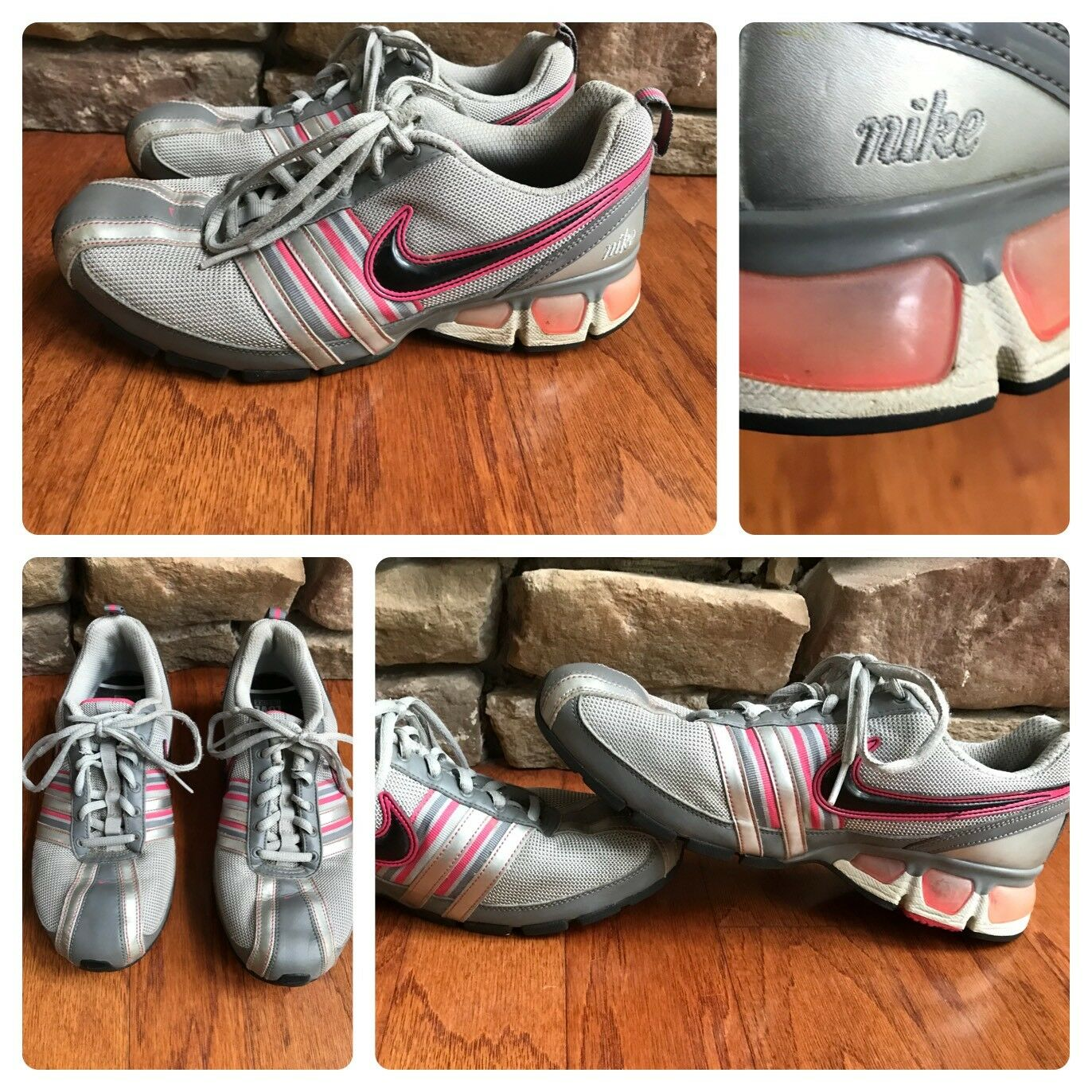les turbulences Argent  taille rose nike air max taille  7,5 en chaussures de sport f8f7a4