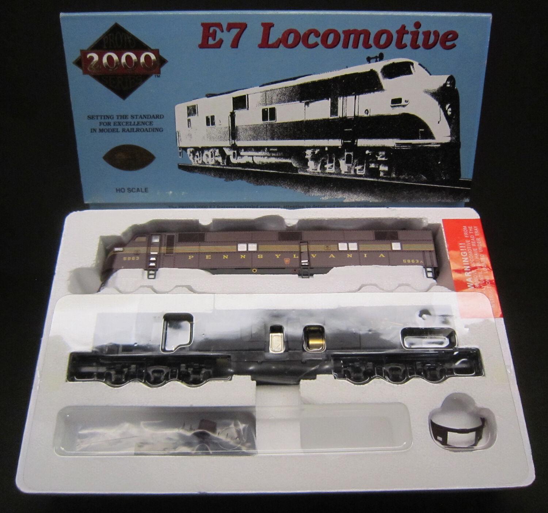 Projoo 2000 HO Scale 21117 Pennsylvania E-7 con tecnología un motor diesel  5863A