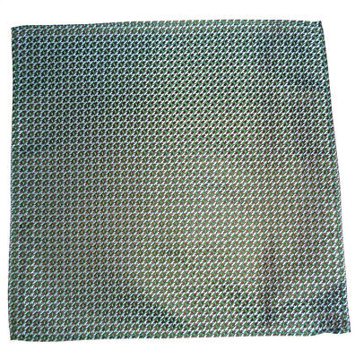 Amabile Top Da Uomo In Tessuto Di Seta Fazzoletto Blu/marrone/verde Design Nuovo-en Design New It-it Mostra Il Titolo Originale